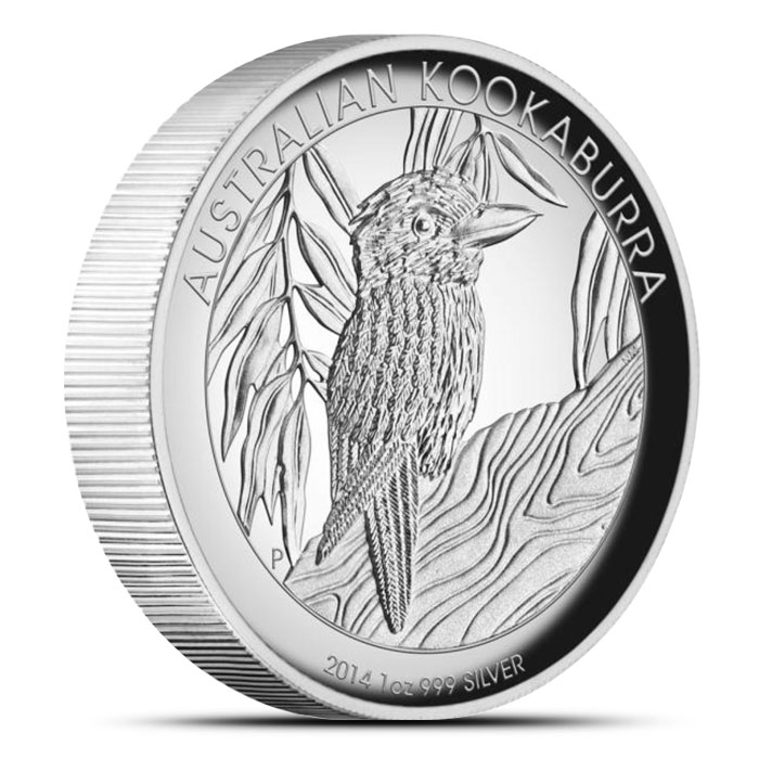 2014 1 oz Proof Silver Kookaburra | High Relief