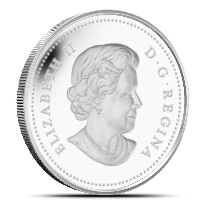 2014 1 oz $20 Silver Maple Canopy | Spring Splendour Reverse