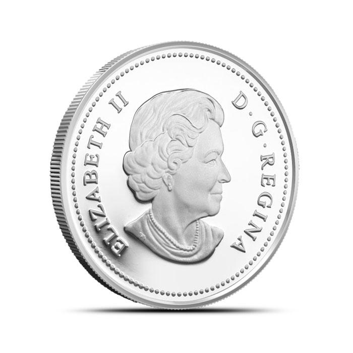 2014 1/2 oz $50 Silver Iconic Polar Bear Reverse