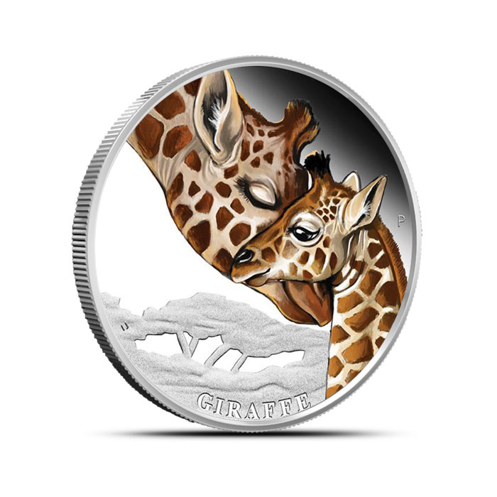 2014 Perth Mint 1/2 oz Proof Silver Mother