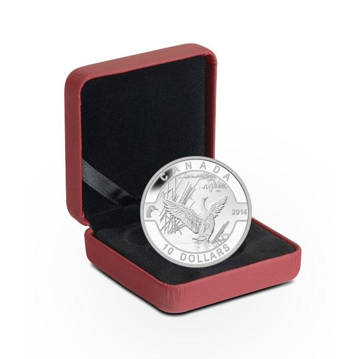 2014 1/2 oz $10 Silver Canada Goose | O Canada Series Box