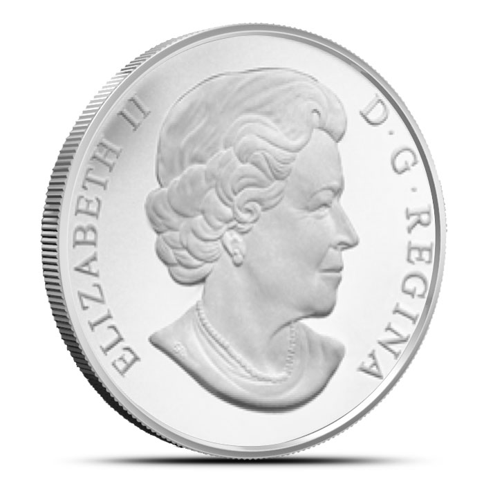 2014 1 oz Lake Erie Canadian $20 | The Great Lakes