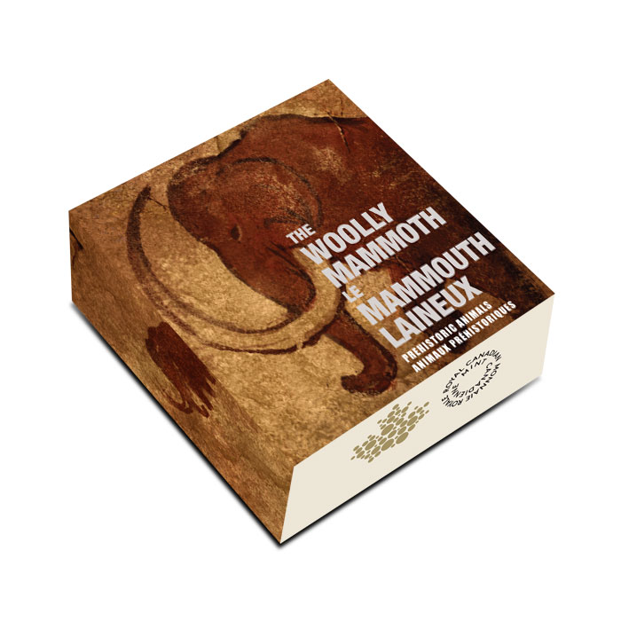 2014 Silver $20 Prehistoric Animals   The Woolly Mammoth Box