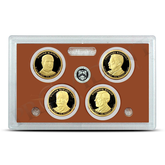 2013 US Mint Presidential Dollars Proof Set Obverse