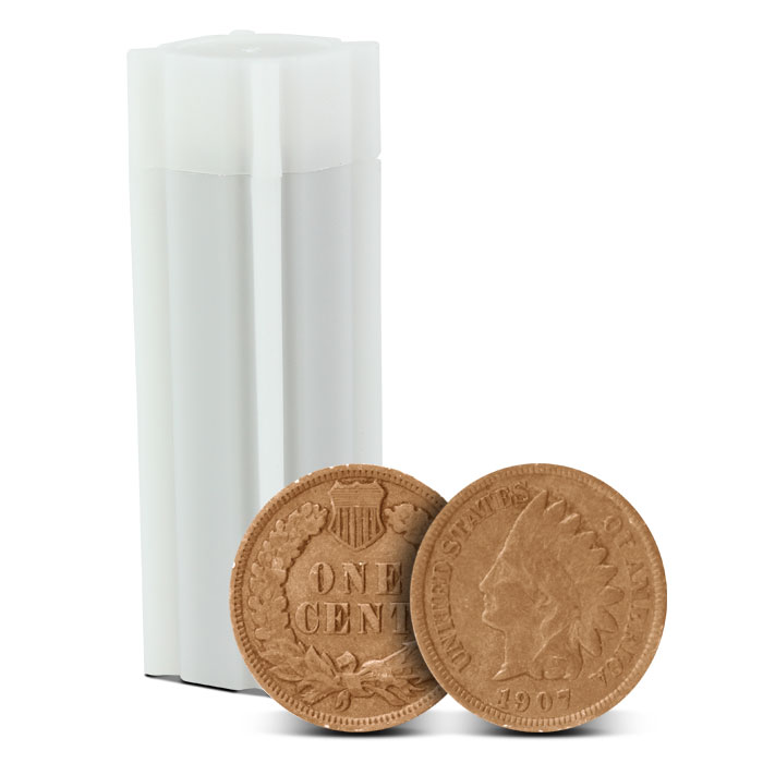 Indian Head Copper Cent | Good + | 50 Count Roll