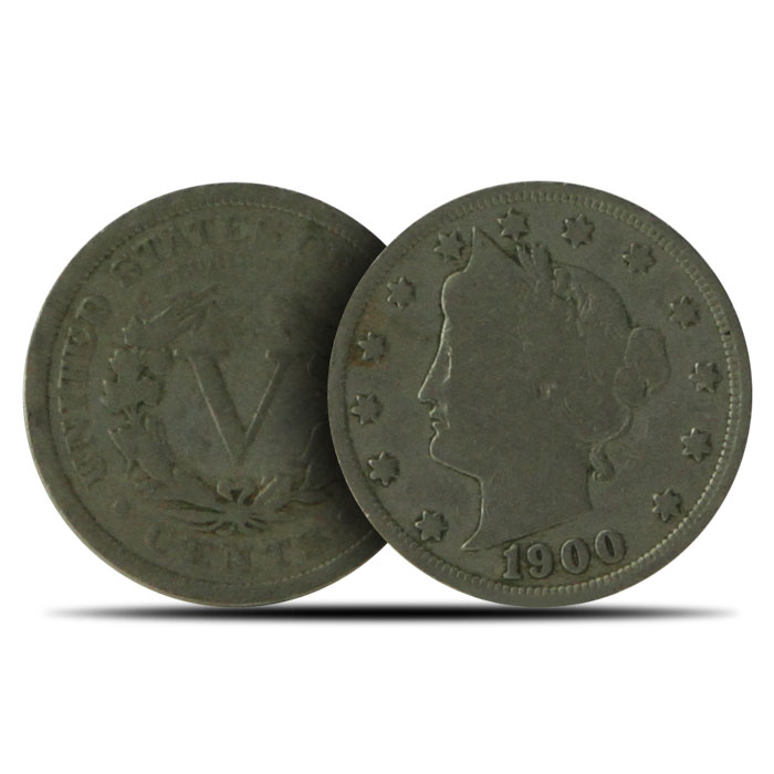 "Good+ | Liberty ""V"" Nickels 