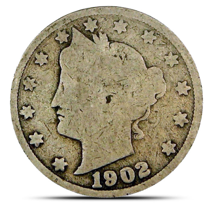 """AG Liberty """"V"""" Nickels 