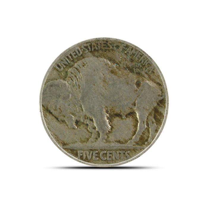 1914 P Buffalo Nickel | Circulated Reverse