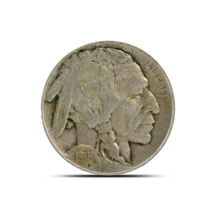 1915 P Buffalo Nickel   Circulated