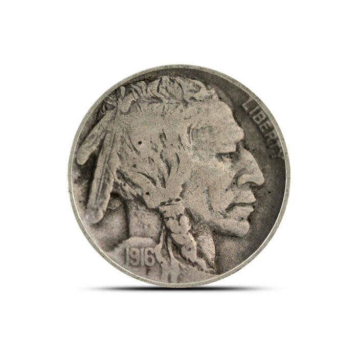 1916 P Buffalo Nickel | Circulated