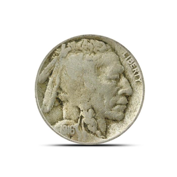 1916 S Buffalo Nickel | Circulated