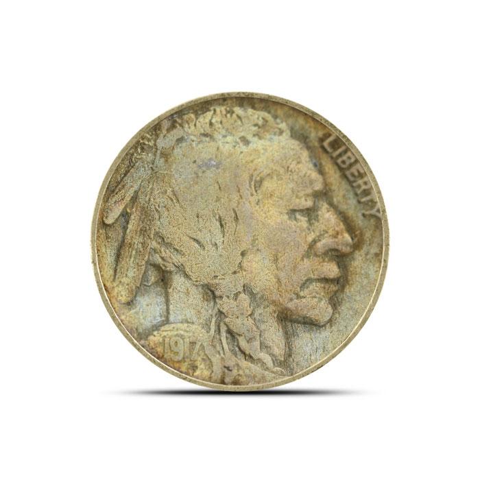 1917 P Buffalo Nickel | Circulated