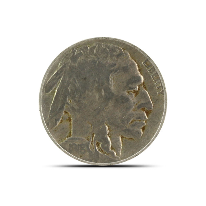 1918 S Buffalo Nickel | Circulated