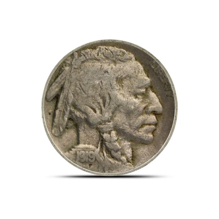 1919 P Buffalo Nickel | Circulated