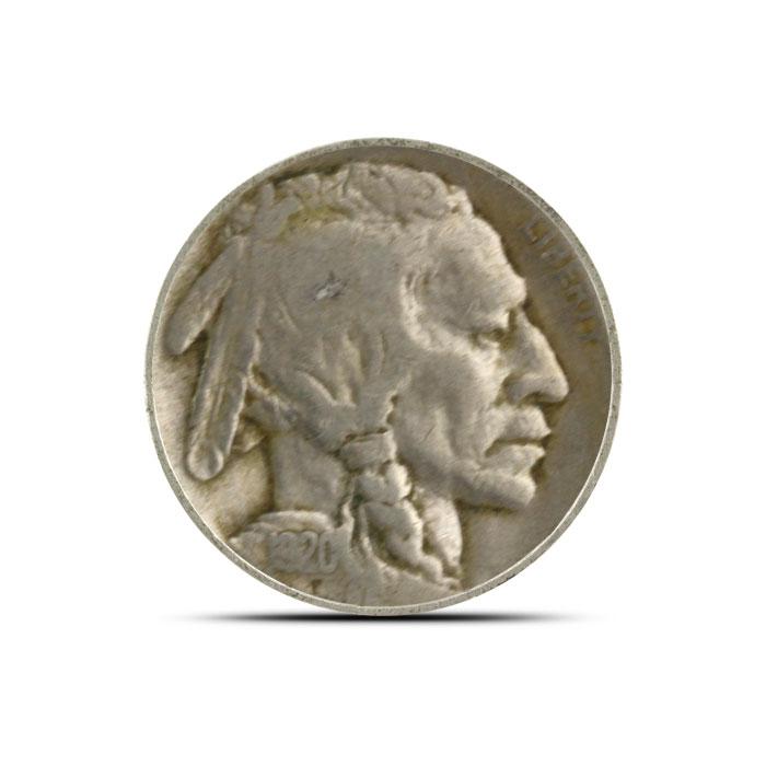 1920 P Buffalo Nickel   Circulated