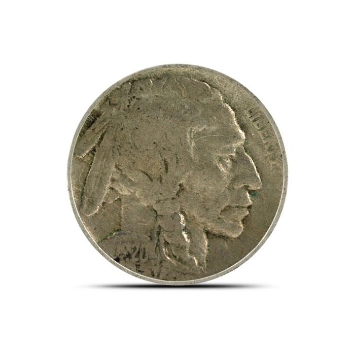 1920 S Buffalo Nickel   Circulated