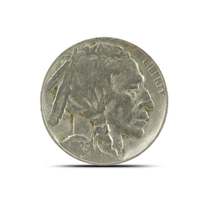 1925 S Buffalo Nickel   Circulated