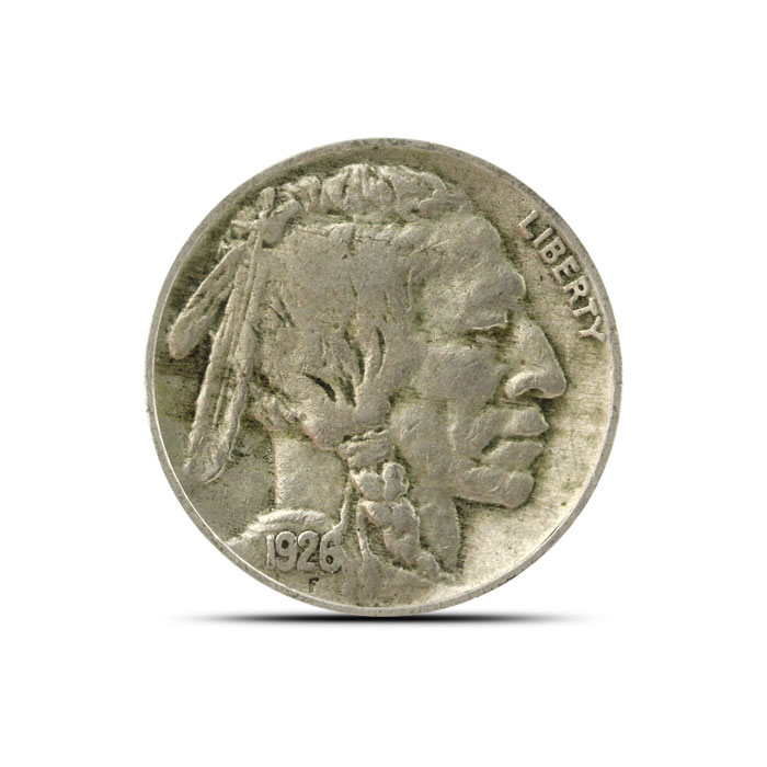 1926 P Buffalo Nickel   Circulated