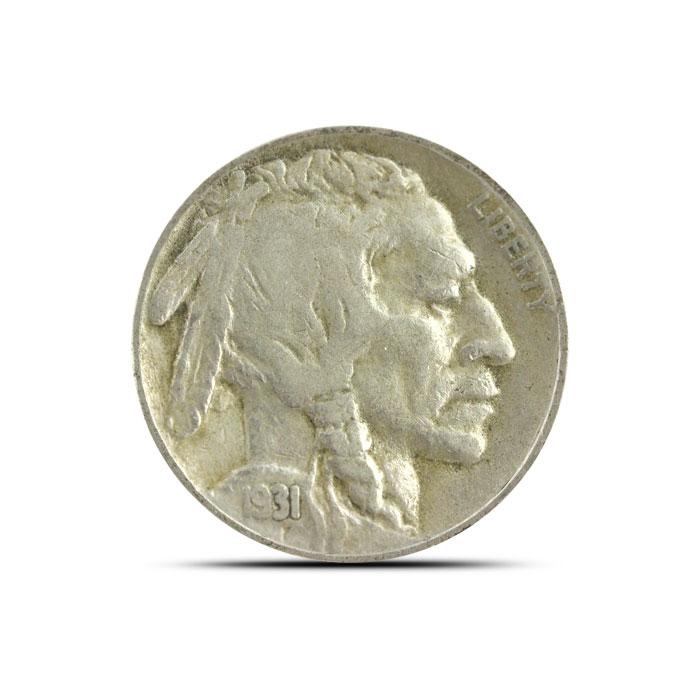 1931 S Buffalo Nickel | Circulated
