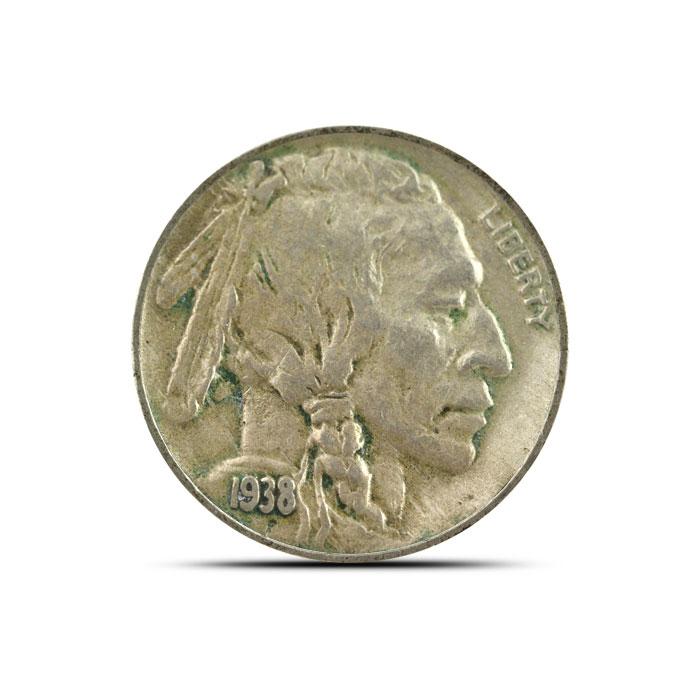 1938 D Buffalo Nickel | Circulated