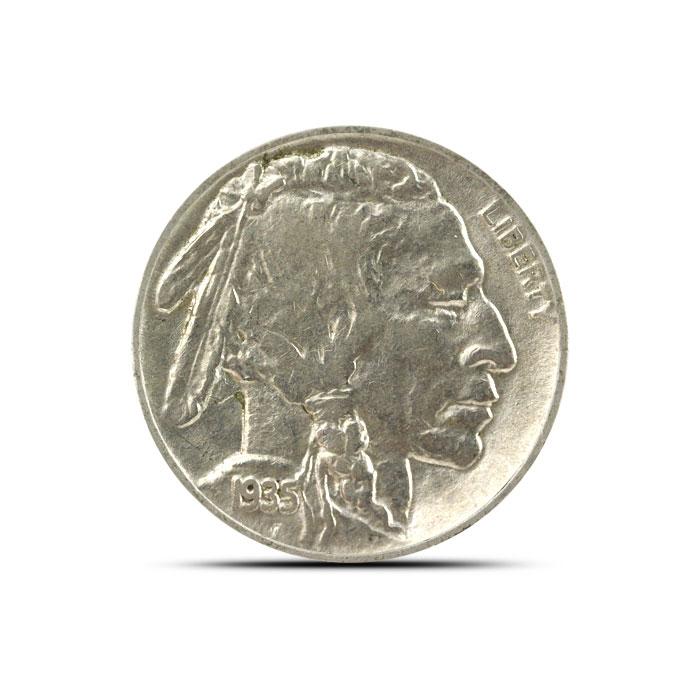 1935 P Buffalo Nickel | VF+