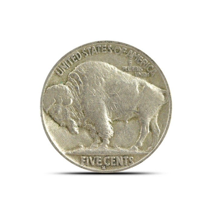 1935 S Buffalo Nickel | VF+ Reverse