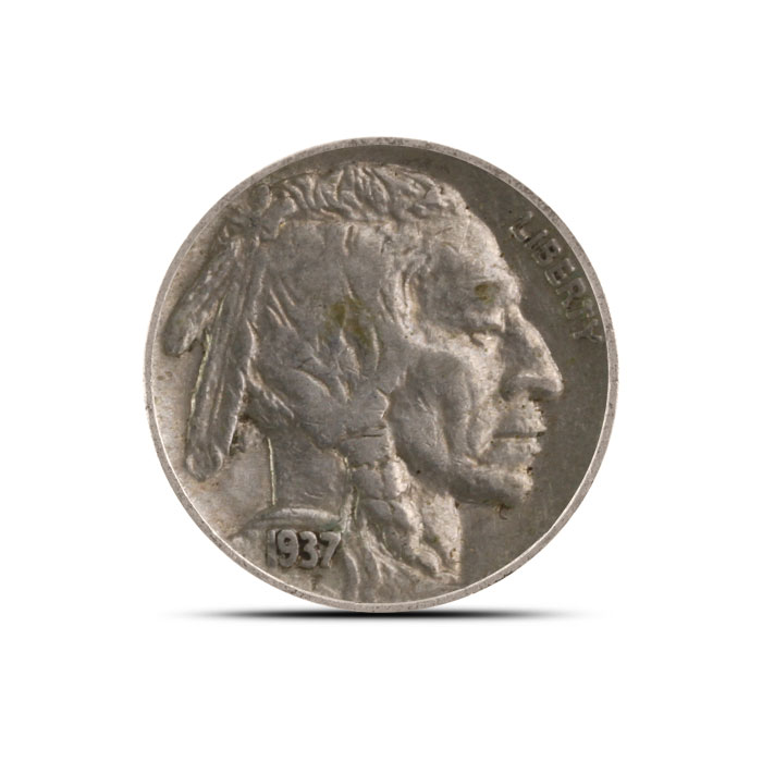 1936 P Buffalo Nickel   VF+
