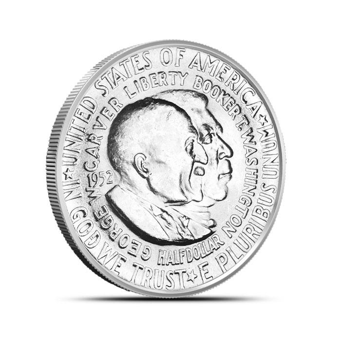 Washington Carver Silver Commemorative Half Dollar