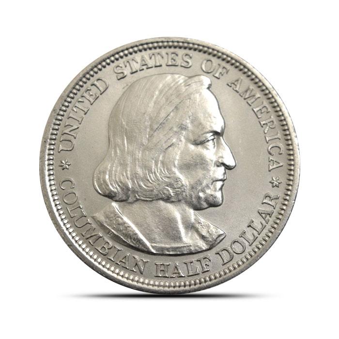 Columbian Exposition Silver Half Dollar | BU