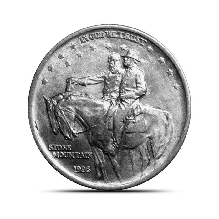1925 Stone Mountain Silver Half Dollar | BU