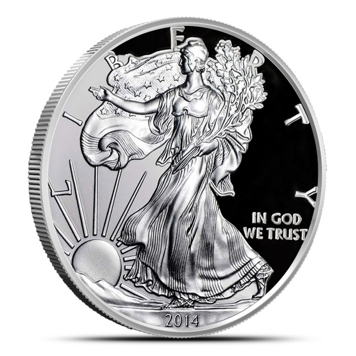 2014 Proof American Silver Eagle | Obverse