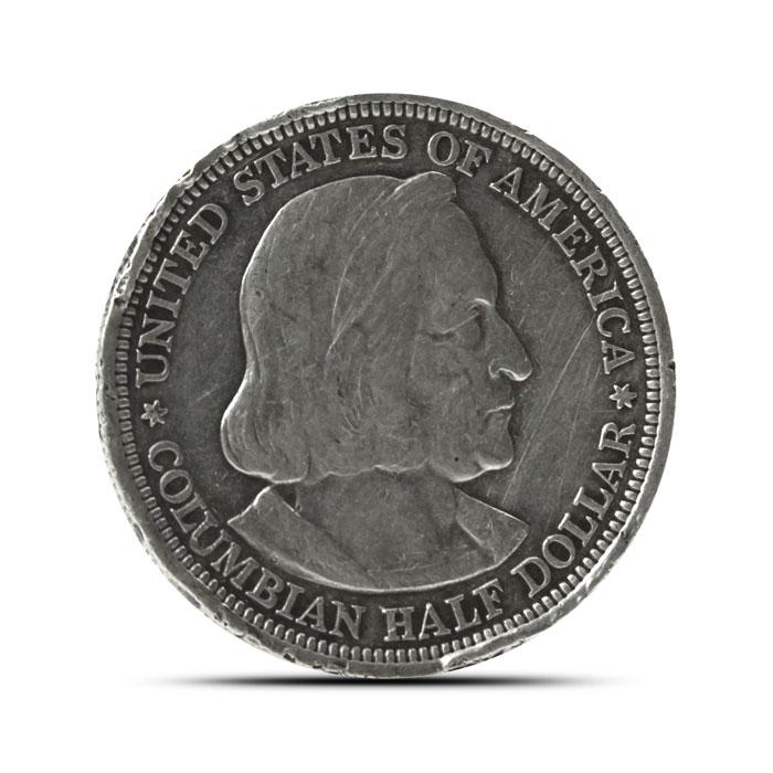 Columbian Exposition Silver Half Dollar   Cull