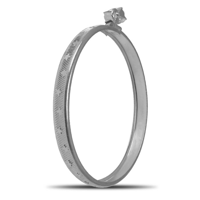 Sterling Silver Stars and Stripes Bezel | 40.6 mm