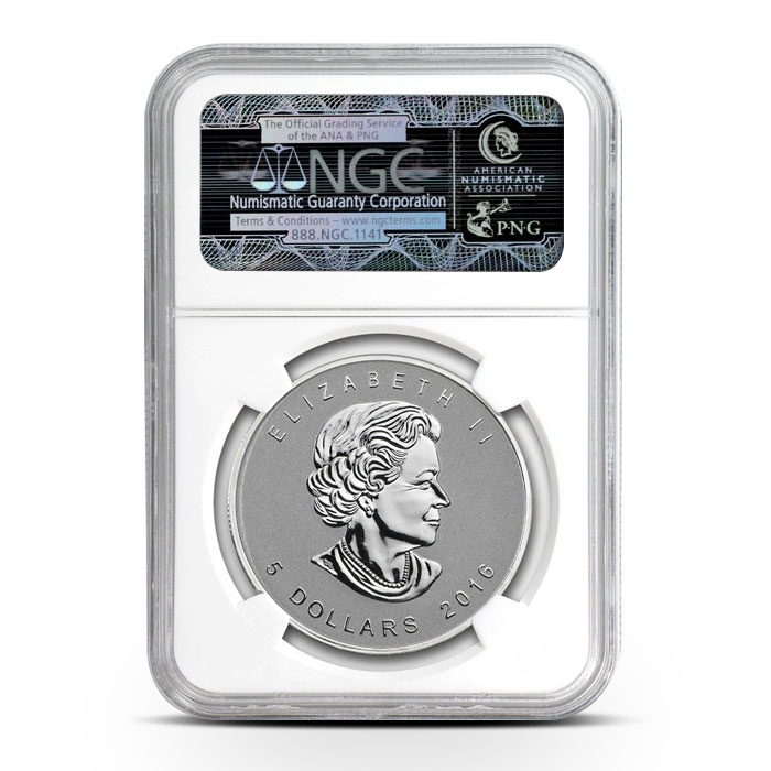 2016 Canadian Silver Maple Bigfoot Privy - First Day of Issue