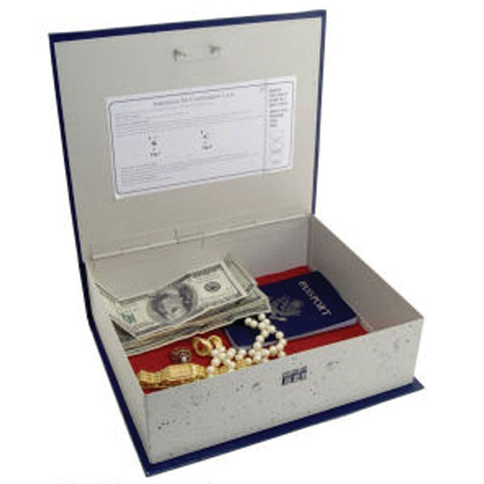 Dictionary Book Safe with Combination Lock-8163