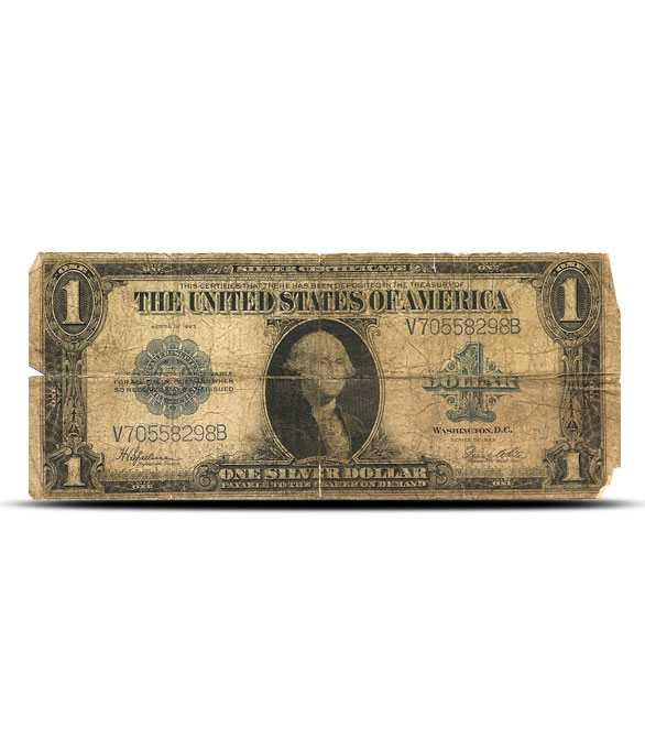 1923 $1 Silver Certificate | Large Size | Cull