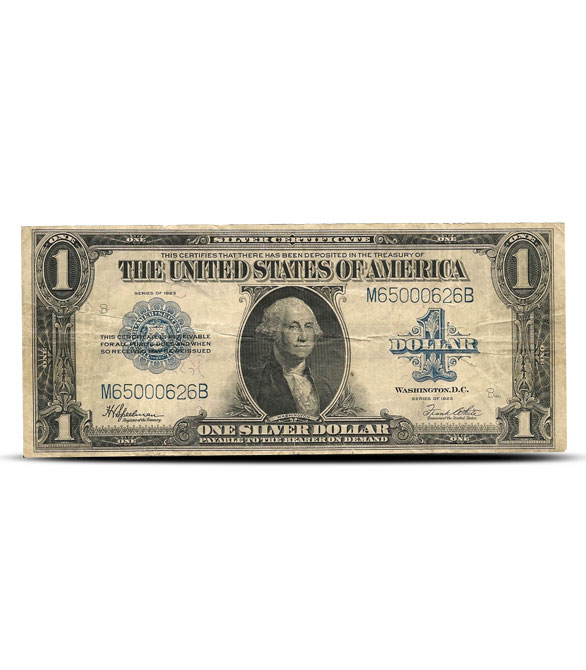 1923 $1 Silver Certificate | Large Size | Very Fine