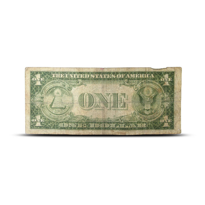 1935 A North Africa $1 Silver Certificate | World War II Emergency Issue | Cull Back