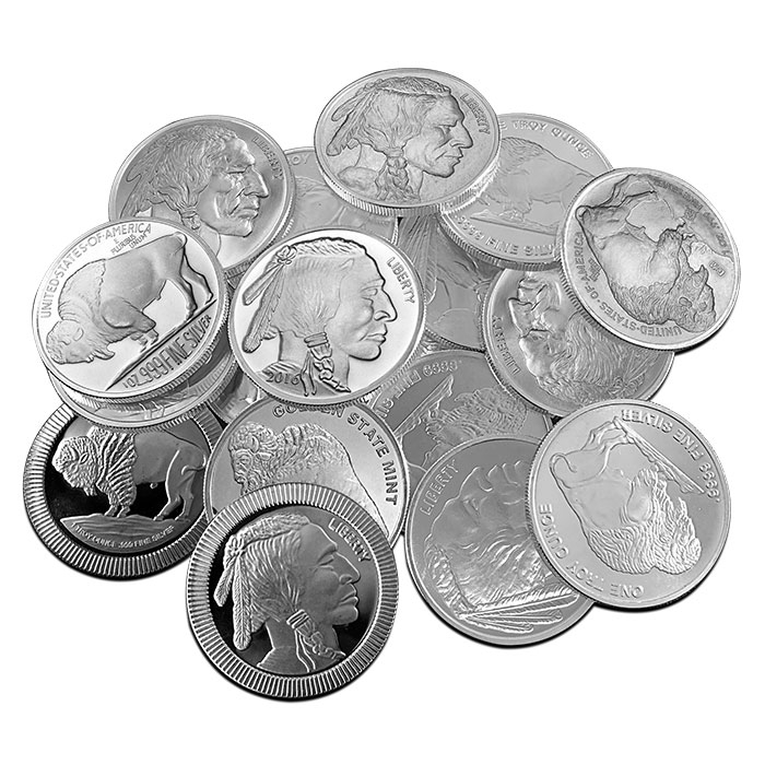 Buffalo 1 oz Silver Round