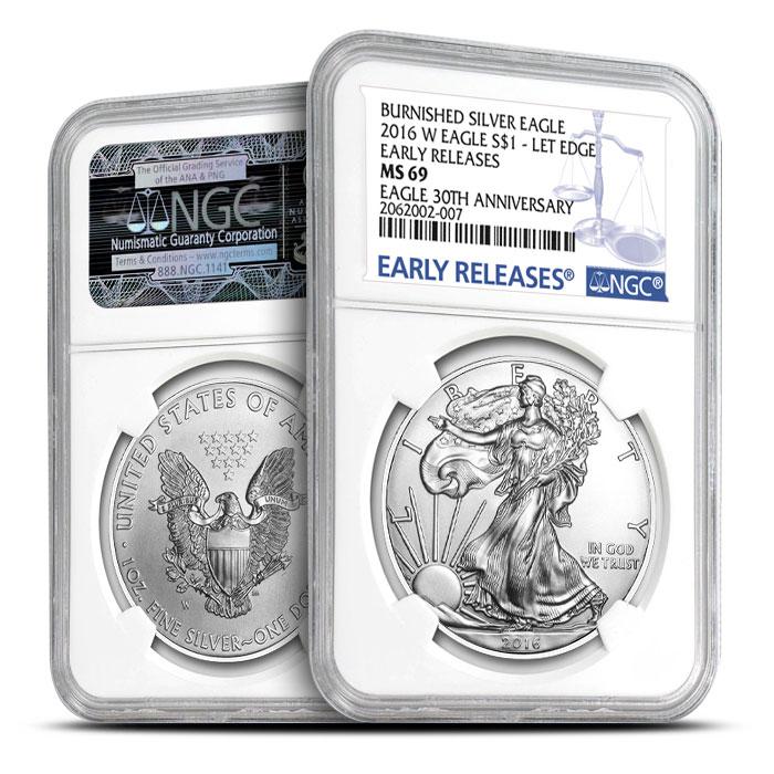 2016 Burnished Silver Eagle
