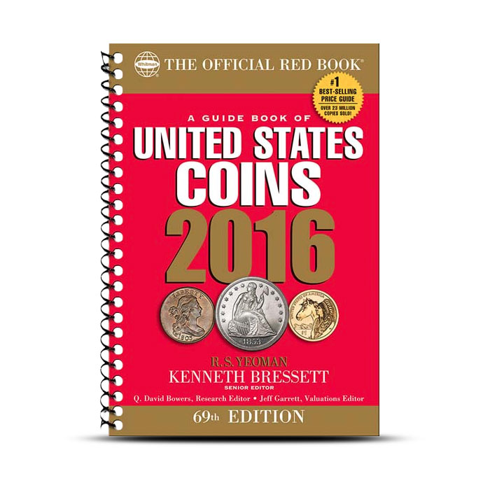 2016 Red Book | A Guide Book of US Coins