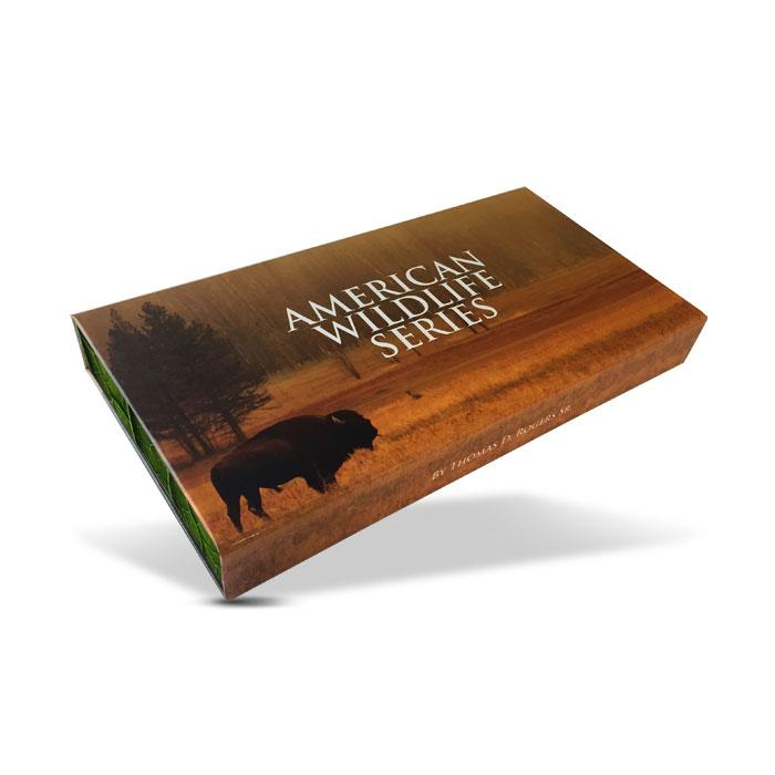 American Wildlife Series Complete Copper Set | Display Box