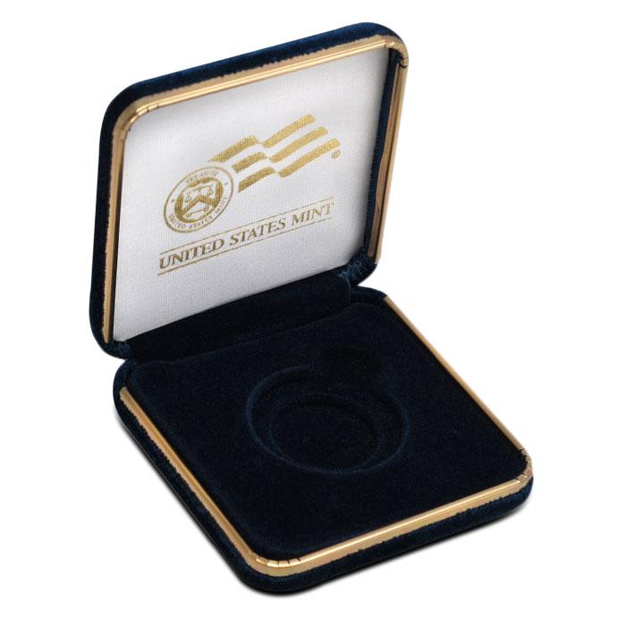 U.S. Mint Gift Box | 1 oz Gold Eagle Gift Box Open