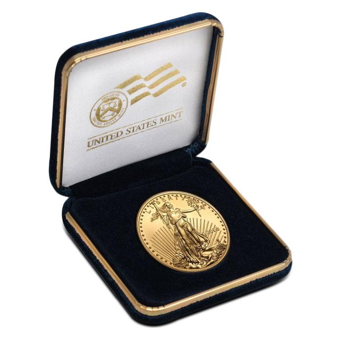 U.S. Mint Gift Box | 1 oz Gold Eagle