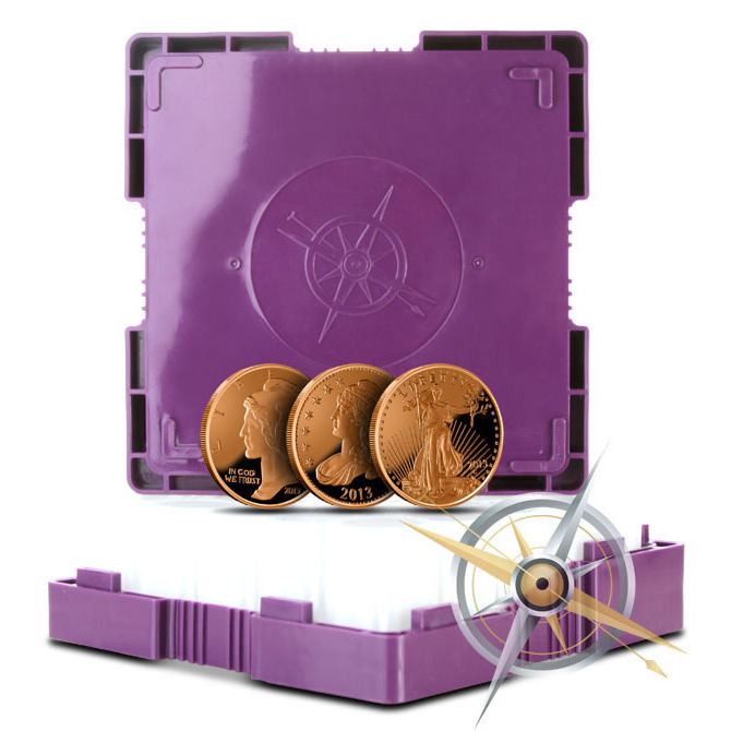 Our Choice Copper Monster Box | 500-1 oz Rounds