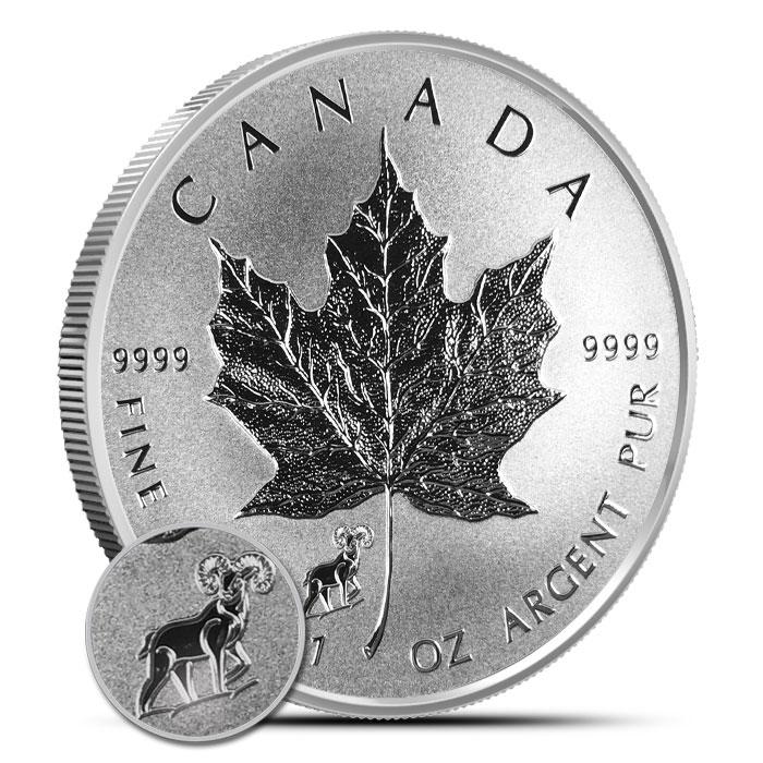2015 Goat Privy 1 oz Canadian Silver Maple Leaf