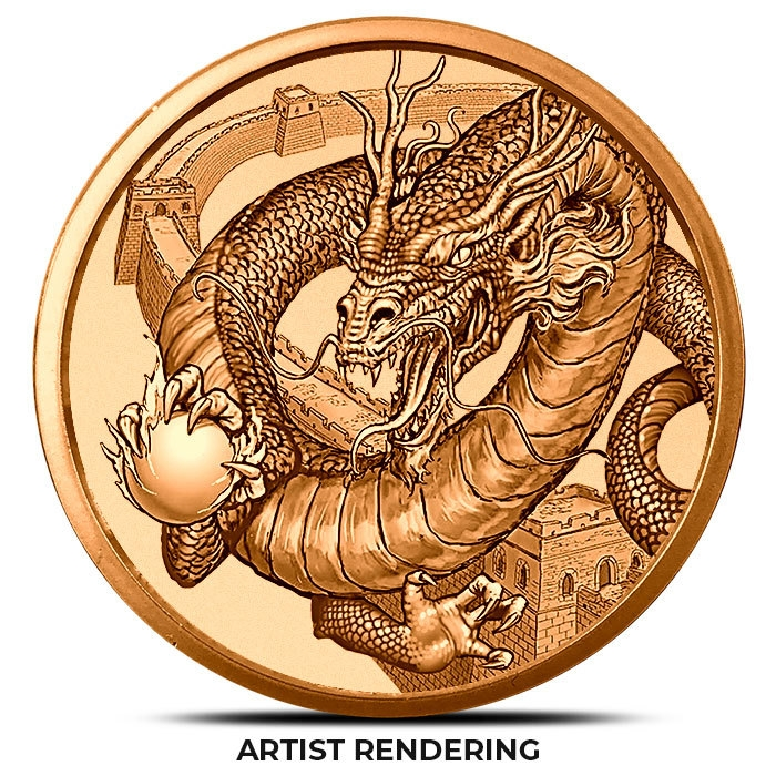 The Chinese 1 oz Copper Round Draft