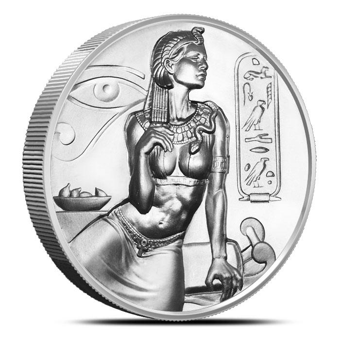 Cleopatra Silver Round
