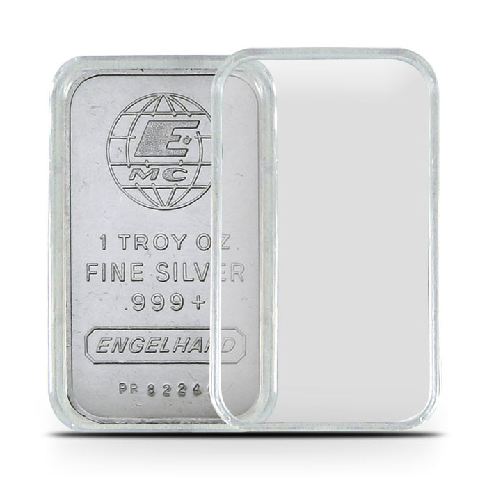 Air-Tite Plastic Holder | 1 Ounce Silver Bars
