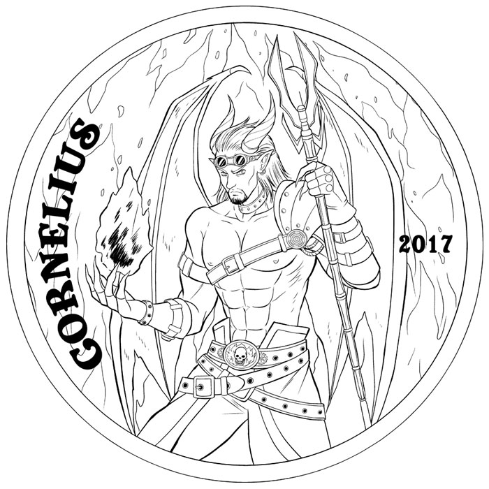 Cornelius Artist Sketch
